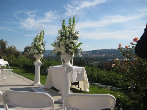 The White Wedding Set-Up